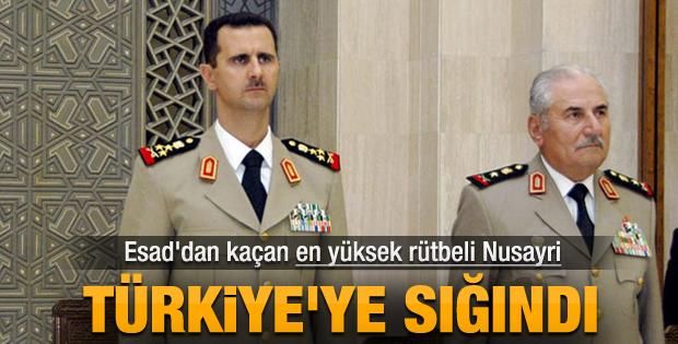 Esad'ın Savunma Bakanı Türkiye'ye sığındı