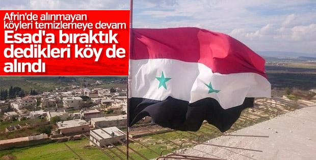 Afrin'de 3 köy daha teröristlerden temizlendi