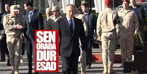 Esad'a Rus generalden müdahale