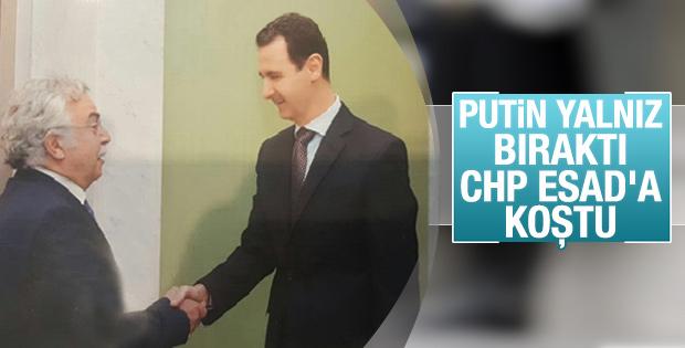 Yurt gazetesinden Şükrü Sina Gürel Esad'la görüştü