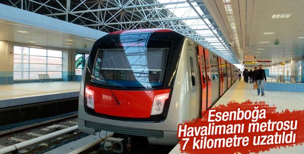 Esenboğa Havalimanı metrosu uzatılacak