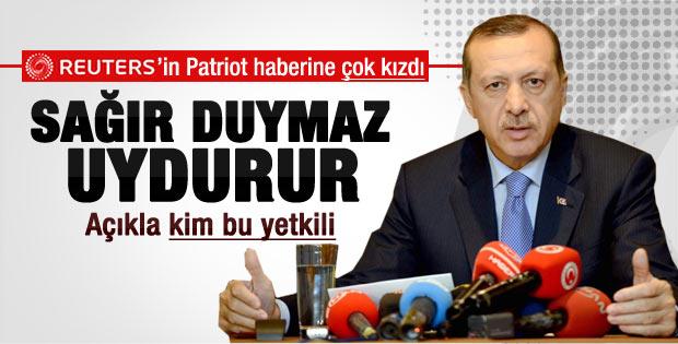 Başbakan Erdoğan'dan NATO füzelerine tepki