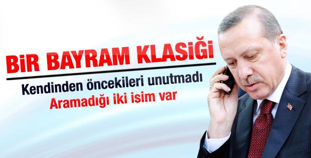 Erdoğan eski cumhurbaşkanı ve başbakanları aradı