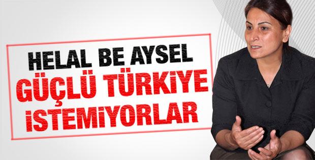 Aysel Tuğluk: Güçlü bir Türkiye istemiyorlar
