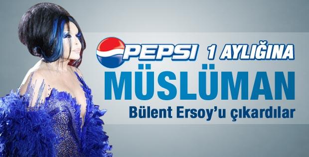 Pepsi ramazanda Bülent Ersoy'u oynatmayacak