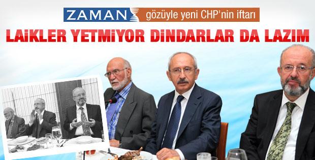Ahmet Turan Alkan CHP iftarını yazdı