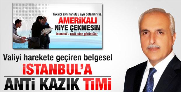 İstanbul'daki uçuk hesaplar valiyi harekete geçirdi
