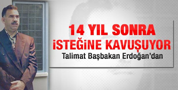 Öcalan'a televizyon verilecek
