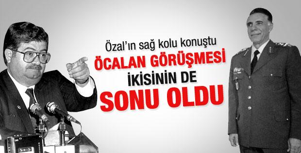 Özal'ın Öcalan ile görüşmesi sonu oldu