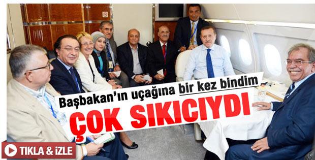 Elif Çakır: Erdoğan'ın uçağı çok sıkıcı