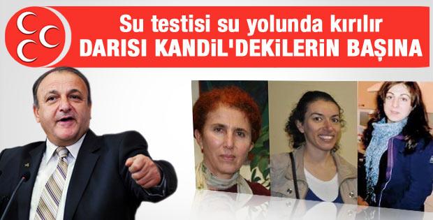 MHP'den 3 kadın PKK'lının öldürülmesine ilişkin ilk yorum