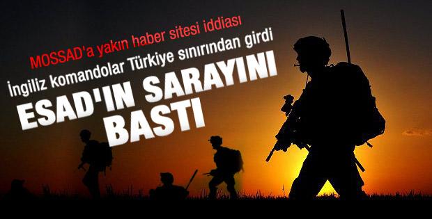 İngiliz Özel Harekatı Türkiye'den Suriye'ye sızdı iddiası