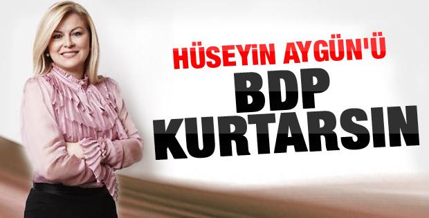 Terör uzmanı Arıboğan: Aygün'ü BDP'liler kurtarsın