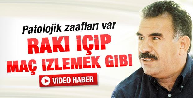 Öcalan'ın büyük emeli Ankara meyhanelerinde rakı içmekti