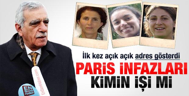 Ahmet Türk: Paris infazları İran işi