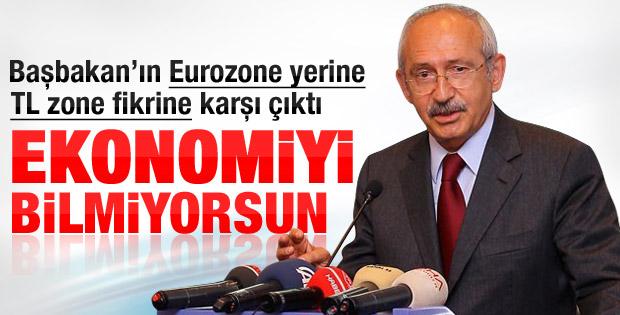 Kılıçdaroğlu: TL ile övünüyorsan ekonomi bilmiyorsun