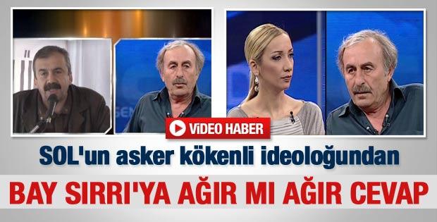 Ömer Laçiner'den Sırrı Süreyya'ya ağır mı ağır cevap