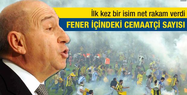 Nihat Özdemir Fenerli cemaat üyesi sayısını açıkladı