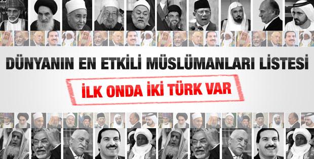 En etkili 500 Müslüman listesinde Başbakan 2. sırada