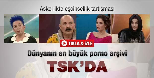 Pelin Batu'dan TSK'da porno iddiası - Video