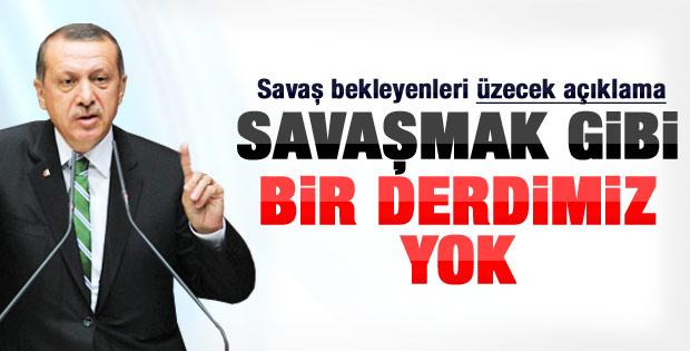 Başbakan Erdoğan'dan Suriye açıklaması