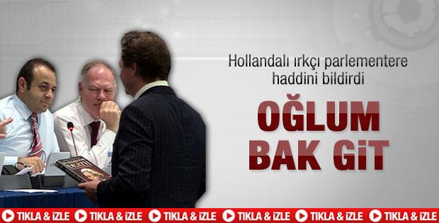 AB Bakanı Bağış'tan Oğlum Bak Git - Video