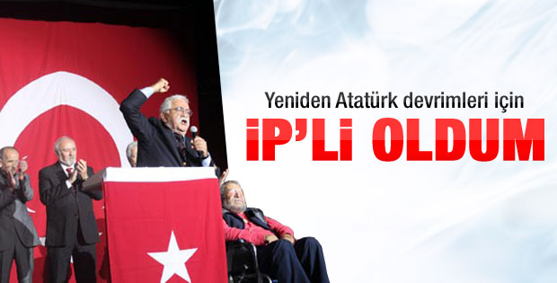 Levent Kırca: Ben İP'ye koşarak geldim
