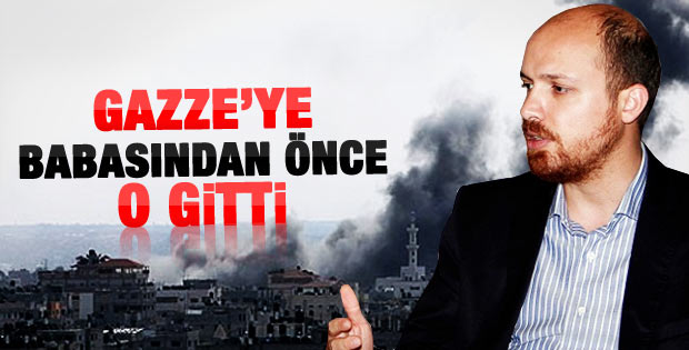 Erdoğan'ın oğlu Bilal Erdoğan Gazze'ye gitti