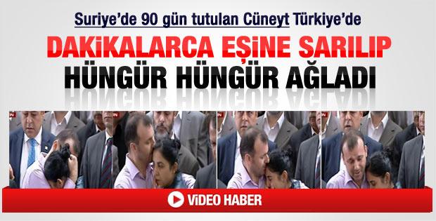 Cüneyt Ünal Türkiye'ye giriş yaptı