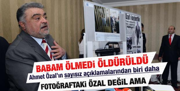 Ahmet Özal'ın babasıyla ilgili paylaştığı kare