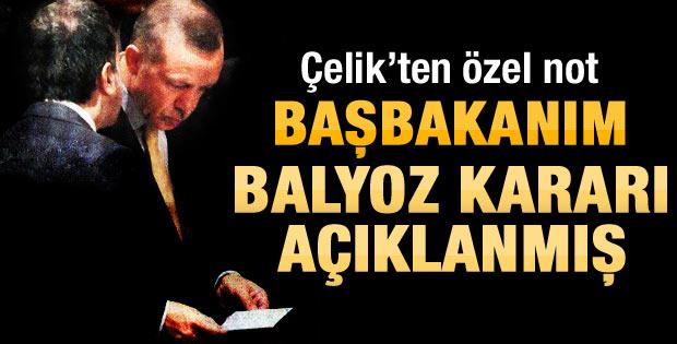 Başbakan Erdoğan Balyoz kararlarını böyle öğrendi