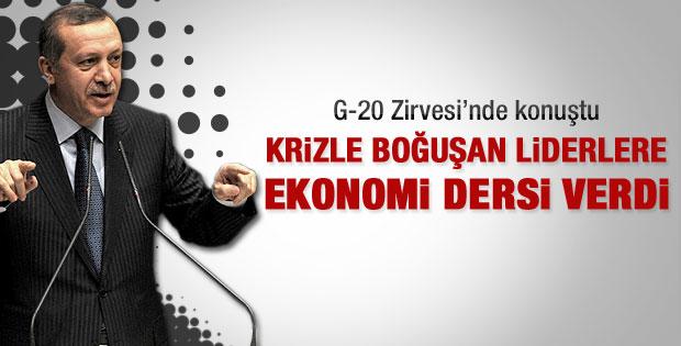 Erdoğan G-20 Zirvesi'nde konuştu