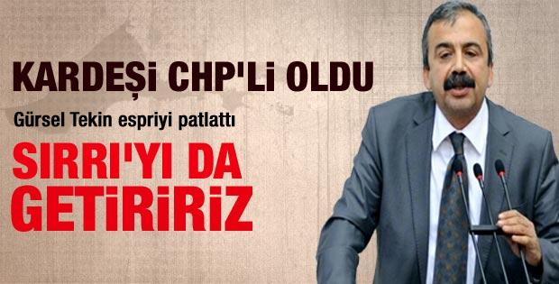 Sırrı Süreyya Önder'in kardeşi CHP'yi seçti
