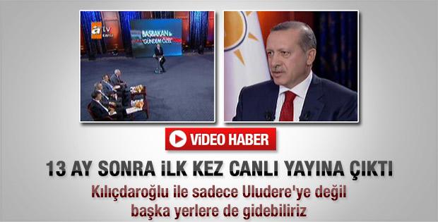Erdoğan ATV canlı yayınında konuştu - Video