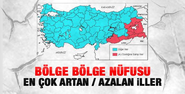 Bölge bölge Türkiye'nin doğurganlık hızı haritası