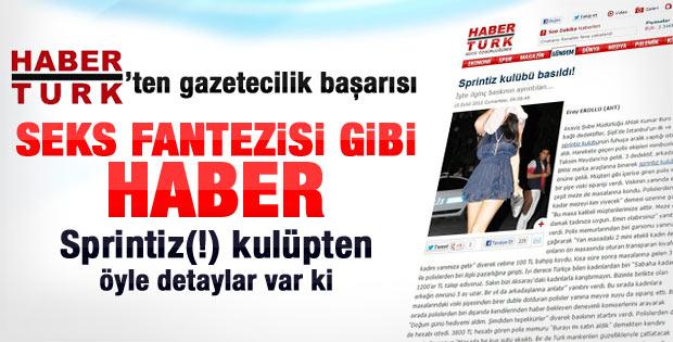 Habertürk'ün sprintiz haberi