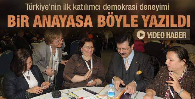 Türkiye'nin Anayasası böyle yazıldı