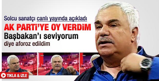 Halil Ergün: Başbakan'ı seviyorum oyumu ona verdim
