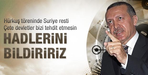 Erdoğan'ın Hürkuş törenindeki konuşması