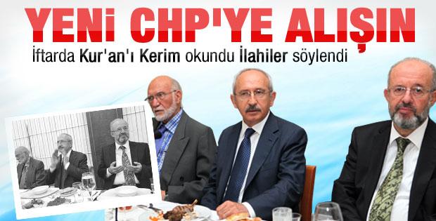 CHP iftarında Kur'an'ı Kerim okundu