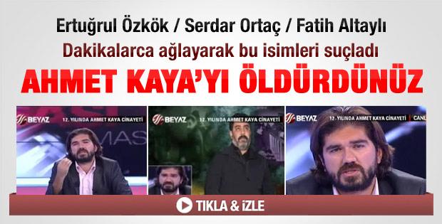 Rasim Ozan: Ahmet Kaya'yı siz öldürdünüz - izle