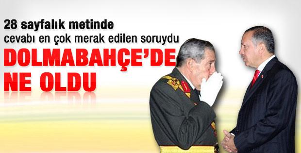 Erdoğan'dan Komisyon'a Dolmabahçe yanıtı