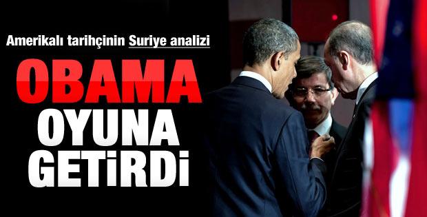 Obama Erdoğan'ı oyuna getirdi
