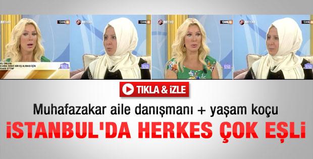 Sibel Üresin: İstanbul'da tek eşli hiç yok - Video