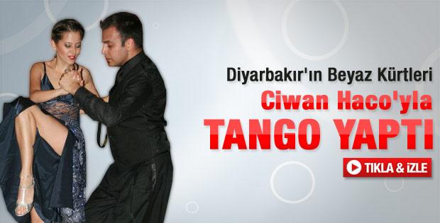 Diyarbakır'da Kürtçe şarkı eşliğinde tango
