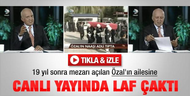 Birand Özal'ın ailesine laf çaktı - Video
