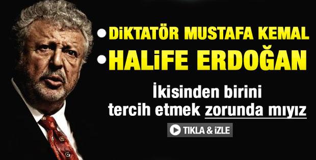 Akpınar'dan diktatör Atatürk halife Erdoğan benzetmesi