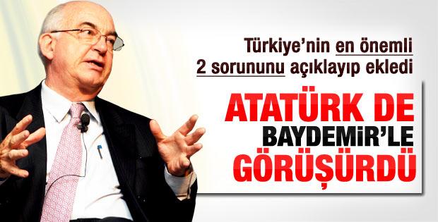Kemal Derviş'e göre Türkiye'nin 2 sorunu var