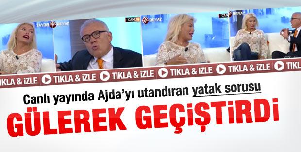 Özkök'ün Ajda Pekkan'ı utandıran yatak sorusu - Video