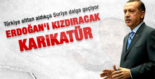 Suriyeli karikatüristin Erdoğan karikatürü